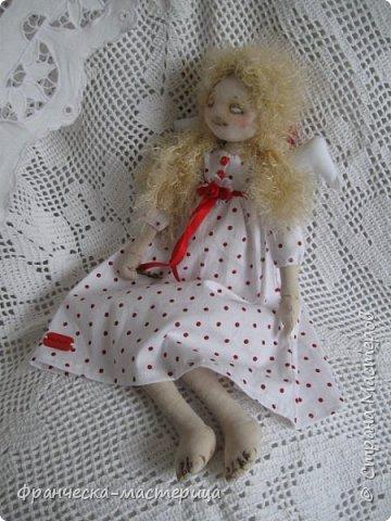 """Добрый день, Страна Мастеров и Мастериц!!! Представляю вам мои новиночки. Эти куклы в заказе и отправятся к новым хозяевам после выходных. Первая из заказанных кукол """" Принцесса Анна"""" ростом в 53 см, сшита из хлопка, набивка - синтепух, волосы из полушерстяной пряжи уложены в статичную причёску.  фото 11"""
