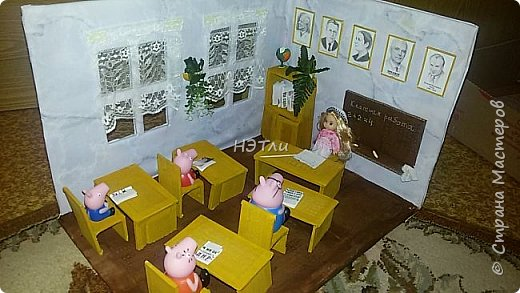 Ученье - свет! ))) Попросили сделать поделку о школе в садик для выпускной группы.  фото 2