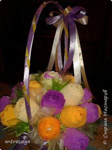 """В корзиночке 31 цветочек """"марсианки"""" фото 5"""