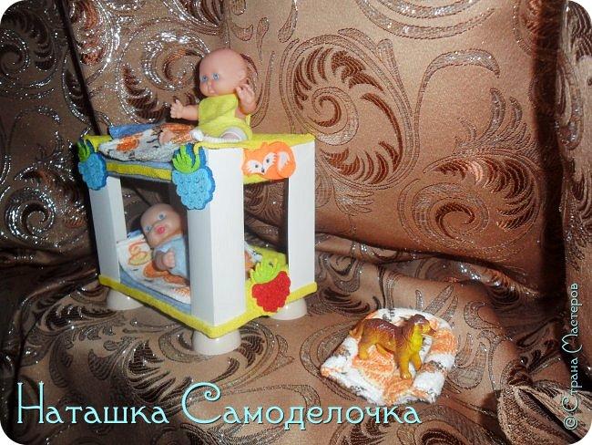 Привет всем жителям страны!!!Попросила дочка мебель смастерить,давайте смотреть ,что из этого вышло))) фото 7