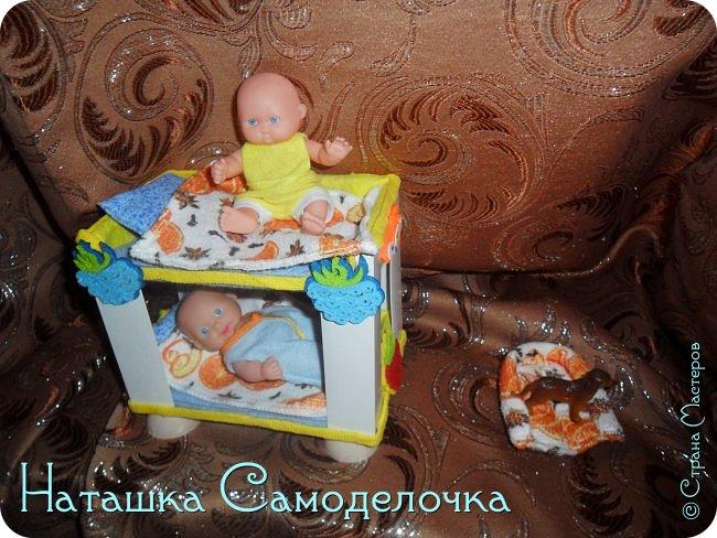 Привет всем жителям страны!!!Попросила дочка мебель смастерить,давайте смотреть ,что из этого вышло))) фото 8