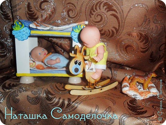Привет всем жителям страны!!!Попросила дочка мебель смастерить,давайте смотреть ,что из этого вышло))) фото 9