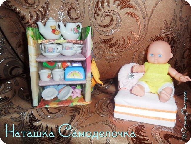 Привет всем жителям страны!!!Попросила дочка мебель смастерить,давайте смотреть ,что из этого вышло))) фото 11