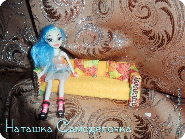 Привет всем жителям страны!!!Попросила дочка мебель смастерить,давайте смотреть ,что из этого вышло))) фото 1