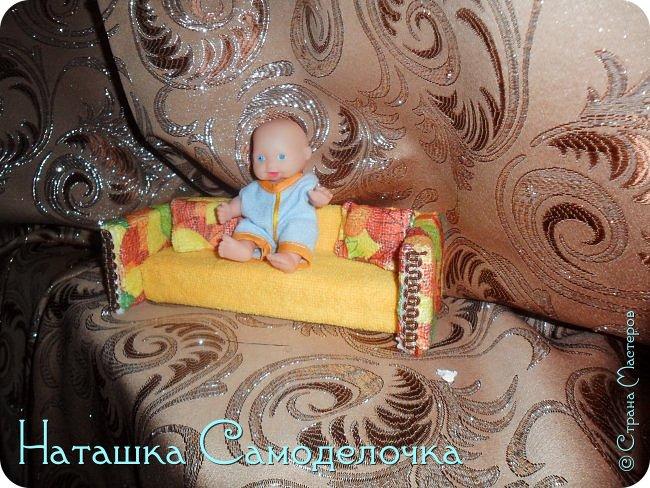 Привет всем жителям страны!!!Попросила дочка мебель смастерить,давайте смотреть ,что из этого вышло))) фото 5