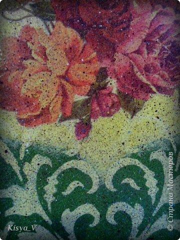 """Здравствуйте, дорогие жители Страны! Вот наваяла к празднику:)! Спасибо Кларе Цеткин и Розе Люксембург за дополнительную возможность дарить подарки! Да, и весна наступает... чем не повод обновить что-то  в жизни.... и на кухне:))).  Итак, набор """"Маки"""". Ну очень захотелось ярких красок и сочности!  фото 22"""