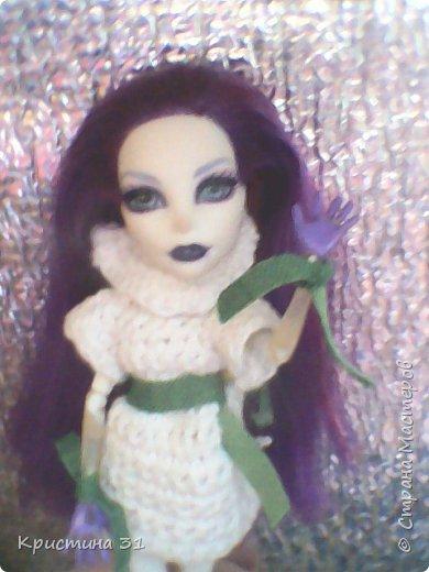 Привет всем)) Мы новые жители Страны Мастеров! Я хочу вас познакомить с моими куклами МХ. Клодин и Спектра. (Но имена у них другие)  (Приношу свои извинения за качество)  И мое имя не Кристина, а Алина.. Но для всех я Али) фото 3