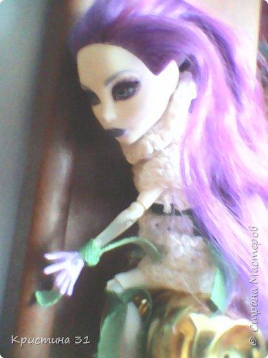 Привет всем)) Мы новые жители Страны Мастеров! Я хочу вас познакомить с моими куклами МХ. Клодин и Спектра. (Но имена у них другие)  (Приношу свои извинения за качество)  И мое имя не Кристина, а Алина.. Но для всех я Али) фото 7