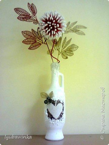 Новогодняя ваза фото 1