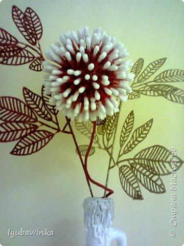 Новогодняя ваза фото 3
