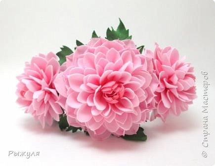 """Вот и продолжение))) Заколка -автомат с розами """"Утренняя свежесть"""" фото 6"""