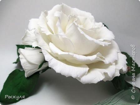 """Вот и продолжение))) Заколка -автомат с розами """"Утренняя свежесть"""""""