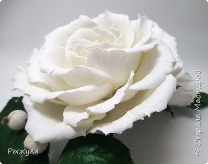 """Вот и продолжение))) Заколка -автомат с розами """"Утренняя свежесть"""" фото 2"""