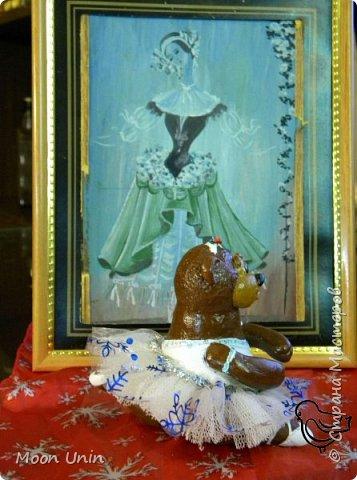Знакомьтесь, прима-балерина Большого Лесного театра Машенька Потаповна! И не смотрите, что попа толстая;)), зато она грациозна, легка и хороша собой! И растяжка у нее - покруче чем у Волочковой)  фото 11