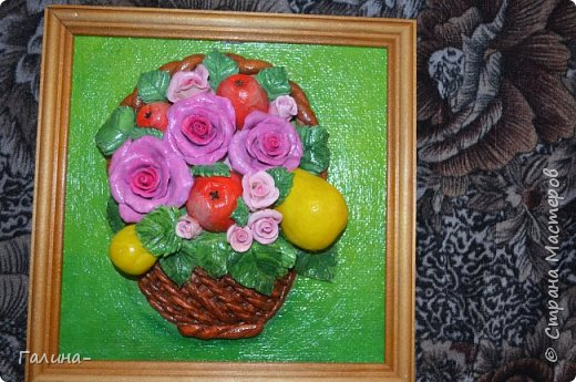 корзина с цветами и ещё повторюшка  фото 1