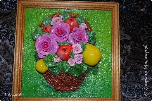 корзина с цветами и ещё повторюшка  фото 2