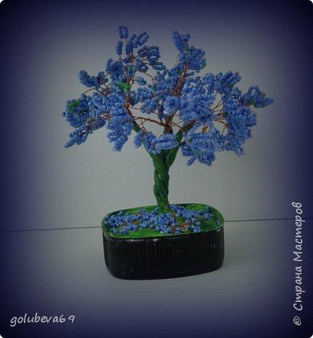 Бисерное деревце. фото 1