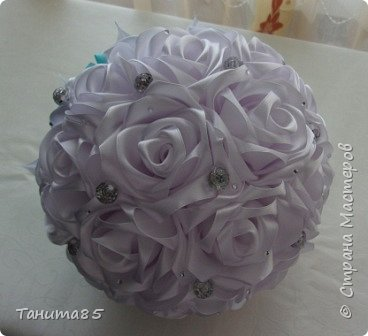 Букет-дублер невесты для свадьбы в стиле Тиффани фото 6