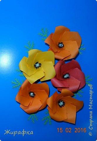 Эти панно сделала Горбунова Настя, 15 лет. Пятицветковое для конкурса, а состоящее из трёх маков останется на стенде. фото 17