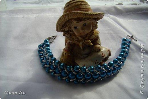 """Мой первый браслетик для внучки я назвала """"Дина"""",так звали мою маму. фото 1"""
