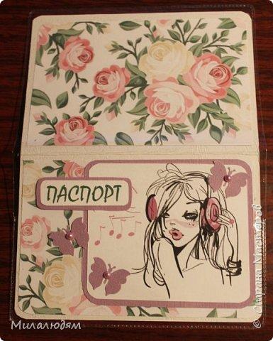 Всем здравствуйте! Я опять с обложками на паспорт. Был заказ для молоденьких девушек. Писать ничего не хочу. и так все понятно. Смотрите и пишите отзывы. А я пошла спать. фото 12