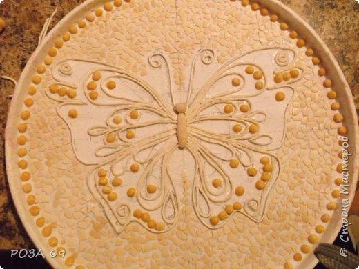 Увидела у Grilena http://stranamasterov.ru/blog/214651 такую бабочку и пропала..... А в один прекрасный день села и сповторюшничала ее себе. Надеюсь, она на меня не обидится. фото 2