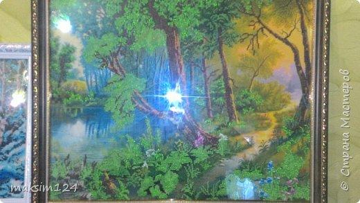 Картины вышитые из бисера фото 1