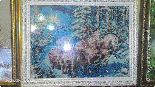 Картины вышитые из бисера фото 2