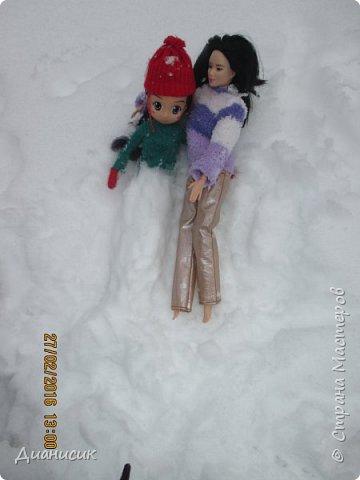Привет всем! Мы новенькие. Юми, GLaDOS и Саша поехали с нами на дачу. Что они там делали, смотрите ниже. Юми: Я крутая лыжница! фото 15