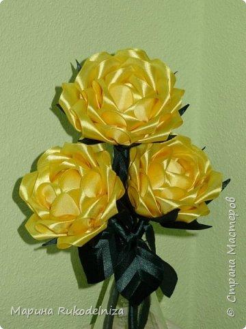 Атласные цветы фото 1