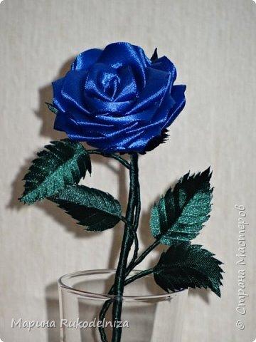 Атласные цветы фото 4