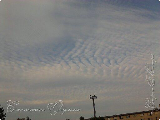 Привет мастерам и мастерицам! Пару лет фотографировал облака, что-то тянуло вверх смотреть. Некоторые фото покажу в этой записи. Здесь облачко - или лошадка с крыльями, или маленький дракончик. фото 9
