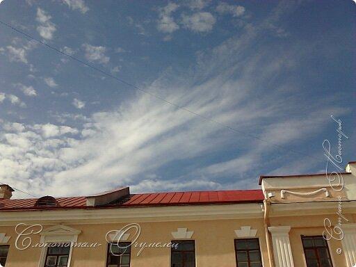 Привет мастерам и мастерицам! Пару лет фотографировал облака, что-то тянуло вверх смотреть. Некоторые фото покажу в этой записи. Здесь облачко - или лошадка с крыльями, или маленький дракончик. фото 11
