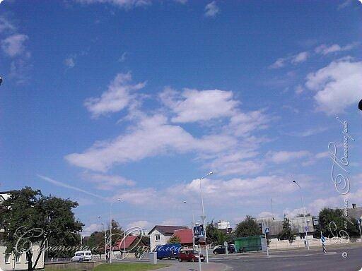 Привет мастерам и мастерицам! Пару лет фотографировал облака, что-то тянуло вверх смотреть. Некоторые фото покажу в этой записи. Здесь облачко - или лошадка с крыльями, или маленький дракончик. фото 2