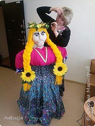 """наша кукла """"масленница"""" подготовлена к районному конкурсу фото 8"""