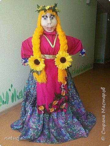 """наша кукла """"масленница"""" подготовлена к районному конкурсу"""
