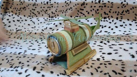 Пушка с банкой чая.  фото 15