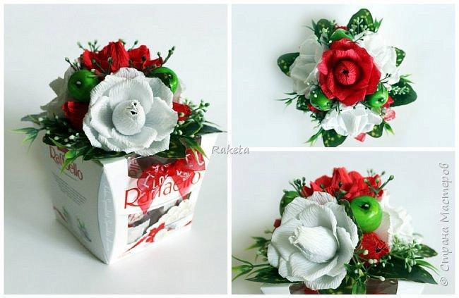 Всем привет! Хочу поделиться с Вами сладеньким!  сделала букет в таком приятном свежем весеннем цвете фото 5