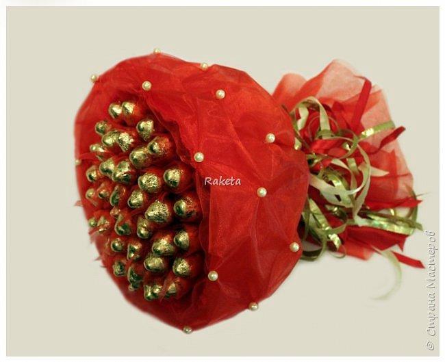 Всем привет! Хочу поделиться с Вами сладеньким!  сделала букет в таком приятном свежем весеннем цвете фото 2