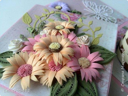 коробочка с розами на заказ фото 4