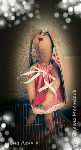 Зайка талисман для младшей дочки фото 2