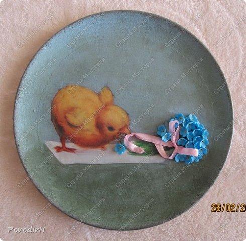 Пасхальные тарелочки фото 1