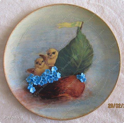 Пасхальные тарелочки фото 5