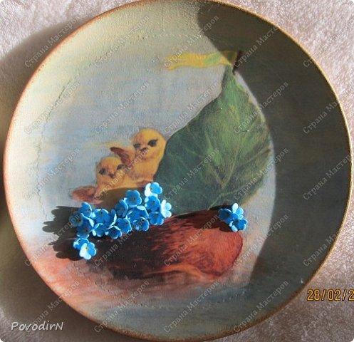 Пасхальные тарелочки фото 7