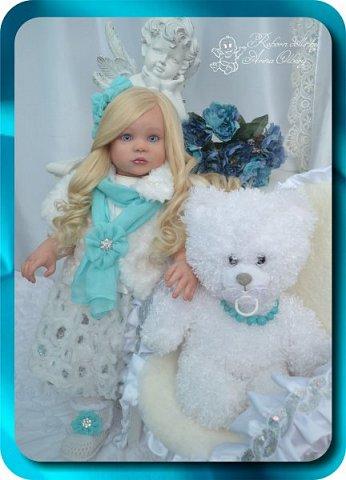 Здравствуйте девочки-мастерицы! Хочу познакомить Вас с новой моей работой, куколкой-Аллочкой. фото 12