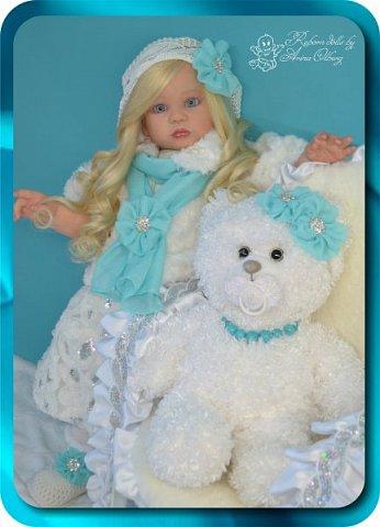 Здравствуйте девочки-мастерицы! Хочу познакомить Вас с новой моей работой, куколкой-Аллочкой. фото 18