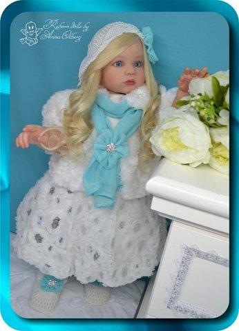 Здравствуйте девочки-мастерицы! Хочу познакомить Вас с новой моей работой, куколкой-Аллочкой. фото 25