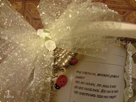 Вот такая книга - открытка получилась у меня для моей лучшей подруги на день рождения)))) фото 3