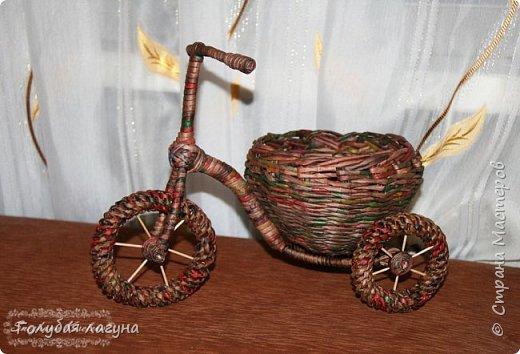 Самый первый велосипед. фото 1