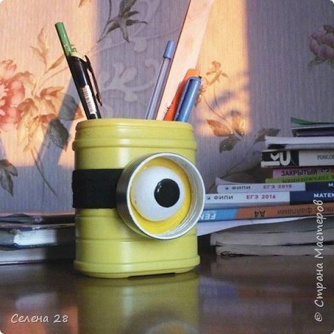 Вот такой  Миньон - карандашница. фото 7